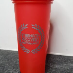 Protein Shake Red